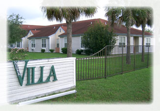 Main Entrance to Villa of Corpus Christi Northwest